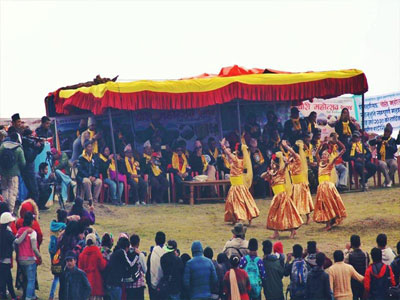 Yak festival at Charrati